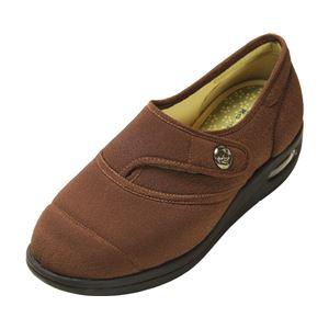 マリアンヌ製靴 彩彩~ちりめん~ W1100 婦人用 /23.5cm ブラウン h01