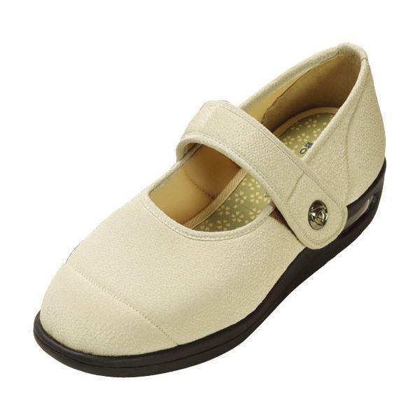 マリアンヌ製靴 彩彩~ちりめん~ W1101 婦人用 /24.0cm ベージュf00