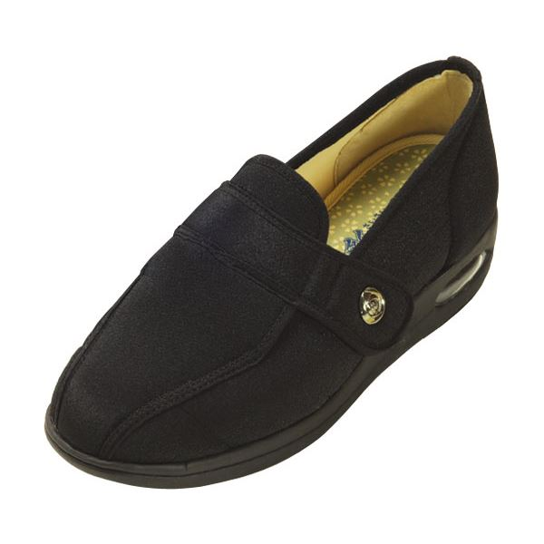 マリアンヌ製靴 彩彩~ちりめん~ W1102 婦人用 /26.0cm ブラックf00