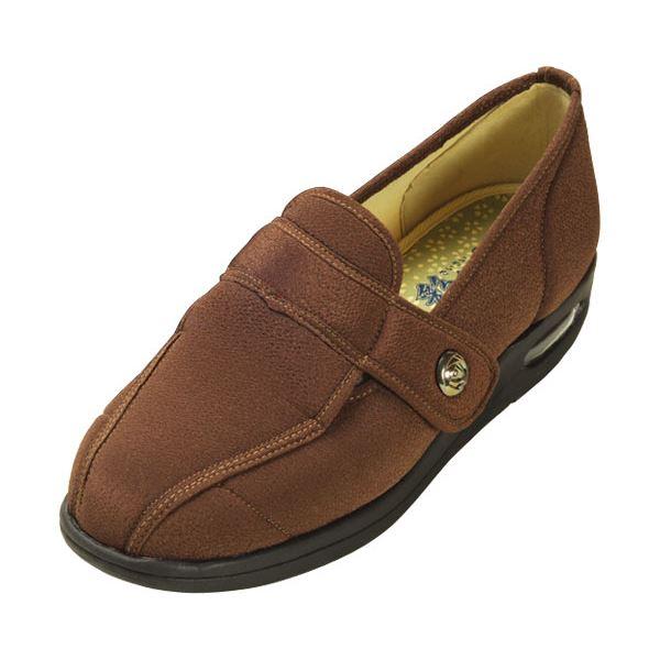 マリアンヌ製靴 彩彩~ちりめん~ W1102 婦人用 /23.0cm ブラウンf00