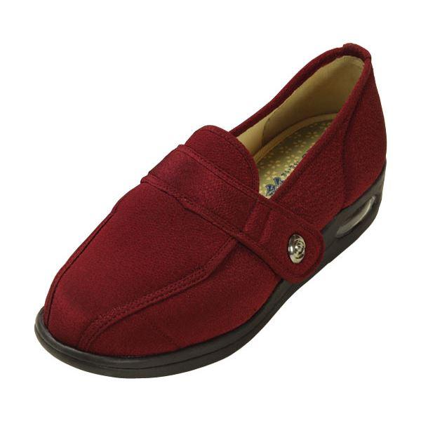 マリアンヌ製靴 彩彩~ちりめん~ W1102 婦人用 /23.5cm あずきf00