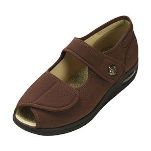 マリアンヌ製靴 彩彩~ちりめん~ W1103 婦人用 /24.0cm ブラウン h01