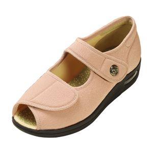 マリアンヌ製靴 彩彩~ちりめん~ W1103 婦人用 /26.0cm さくら h01