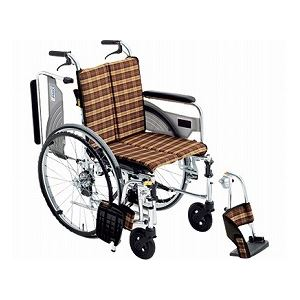 ミキアルミ自走式車いすスキット4SKT-4/座幅42cm♯41【非課税】