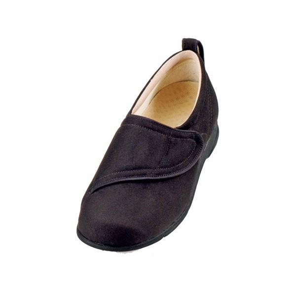 介護靴 施設・院内用 ウィングマジック 1101 両足 徳武産業 あゆみシリーズ / L 黒f00