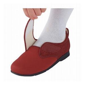 介護靴 施設・院内用 ウィングストレッチ 1102 両足 徳武産業 あゆみシリーズ /3L (25.0~25.5cm) 黒 h02
