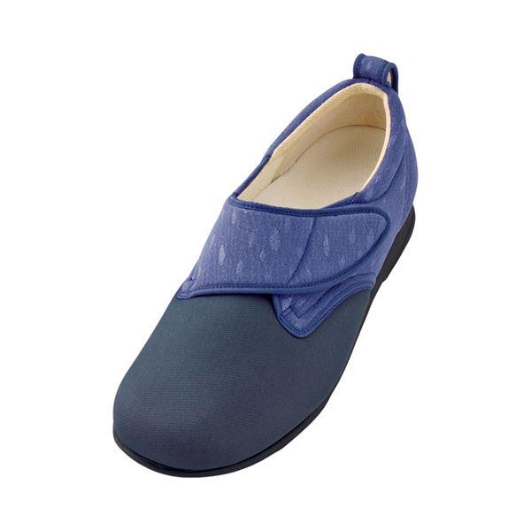 介護靴 施設・院内用 ウィングストレッチ 1102 両足 徳武産業 あゆみシリーズ /S (21.0~21.5cm) 紫f00