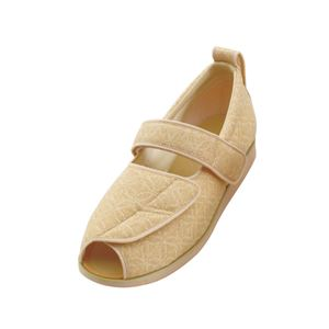 介護靴 施設・院内用 オープンマジック2雅 1025 両足 徳武産業 あゆみシリーズ /LL (24.0~24.5cm) ベージュ h01