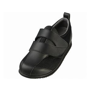 介護靴 RE-001(4E) 1702 / 4L 黒 左足 f06