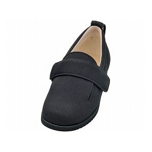 介護靴 施設・院内用 ダブルマジック2 11E(ワイドサイズ) 7029 両足 徳武産業 あゆみシリーズ /4L (26.0~26.5cm) ブラック h01