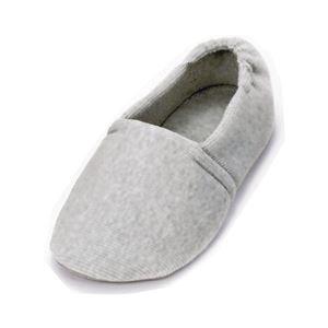 介護靴 室内用 エスパド 2004 両足 徳武産業 あゆみシリーズ / M グレー h01