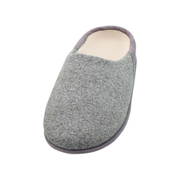 介護靴 室内用 チャルパー 2223 両足 徳武産業 あゆみシリーズ / L グレーf00