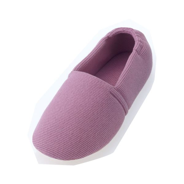 介護靴 室内用 エスパドワイド 2704 両足 徳武産業 あゆみシリーズ / L 紫f00