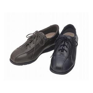介護靴 外出用 コンフォート2 5E(ワイドサイズ) 7013 両足 徳武産業 あゆみシリーズ /3L (25.0~25.5cm) 黒 h01