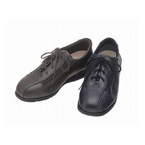 介護靴 外出用 コンフォート2 7E(ワイドサイズ) 7014 両足 徳武産業 あゆみシリーズ /M (22.0~22.5cm) 黒 h01