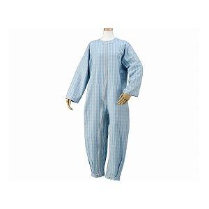 ハートフルウェアフジイ つなぎパジャマ /HP06-100 S 03ブルー