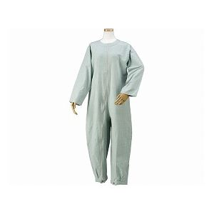 ハートフルウェアフジイ つなぎパジャマ /HP06-100 L 01グリーン