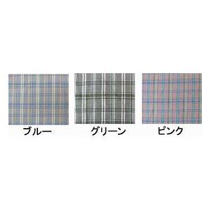 萬楽 マンラク1型ねまき 夏用 /1201 M ブルーチェック h02