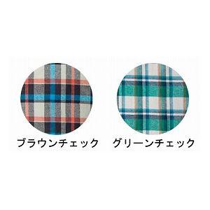 萬楽 マンラク1型ねまき 冬用 /1101 S グリーンチェック h02