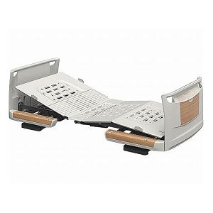パラマウントベッド 楽匠Z 2モーション 樹脂ボード 木目調 スマートハンドル付 /KQ-7201S 83cm幅 ミニ【非課税】