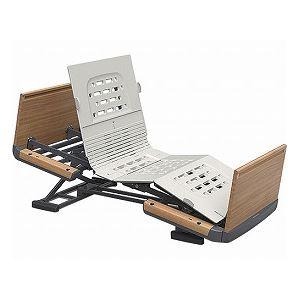 パラマウントベッド 楽匠Z 2モーション 木製ボード 脚側 高 スマートハンドル付 /KQ-7203S 83cm幅 ミニ【非課税】