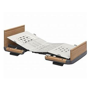 パラマウントベッド楽匠Z3モーション木製ボード脚側低スマートハンドル付/KQ-7332S91cm幅レギュラー【非課税】