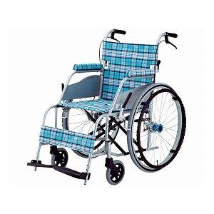 片山車椅子製作所超軽量車いすKARL(カール)自走式KW-901B/スカッシュ・ブルー【非課税】