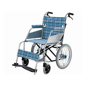 片山車椅子製作所超軽量車いすKARL(カール)介助式KW-903B/スカッシュ・ブルー【非課税】