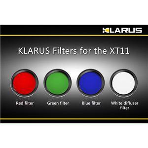 KLARUS(クラルス) XT11用フィルター 青 【日本正規品】