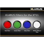 KLARUS(クラルス) XT11用フィルター 白 【日本正規品】