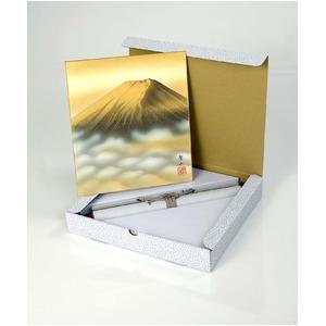 葛谷聖山(梅月)色紙掛 金富士