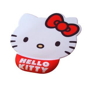 Hello Kitty ハローキティ 疲労軽減マウスパッド 23cm×19.5cm×厚み2cm ゲル材使用 - 拡大画像