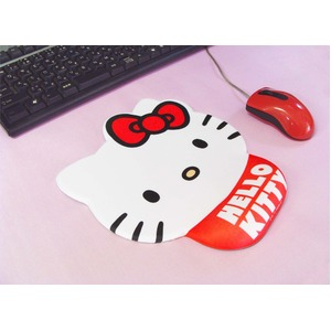 HeLLo Kitty ハローキティ 疲労軽減マウスパッド 23cm×19.5cm×厚み2cm ゲル材使用