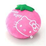 HeLLo Kitty ハローキティ ストロベリークッション【Lサイズ/ピンク】 ベルボア生地使用
