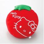 HeLLo Kitty ハローキティ ストロベリークッション【Lサイズ/レッド】 ベルボア生地使用