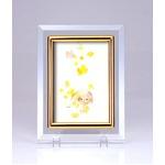 クリスタルフォトフレーム/写真立て 【ハガキサイズ 150×105mm対応】 いわさきちひろ 「夢の花」
