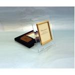 高級クリスタルフォトフレーム/写真立て 【L版対応】 127mm×89mm ウルトラホワイトガラス使用 化粧箱入り 日本製