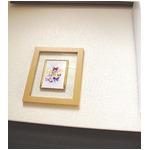 透明フォトフレーム/写真立て 【ハガキサイズ対応】 いわさきちひろ 「蝶と子どもたちの幻想」 日本製の画像