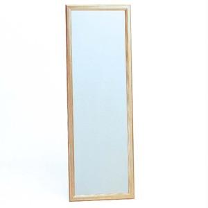 ウォールミラー/全身姿見鏡【壁掛け用】フレーム:シャンパンゴールド壁掛けひも付き日本製