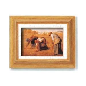 【世界の名画】 複製画 絵画額 ■ミレー名画額サム「落穂拾い」