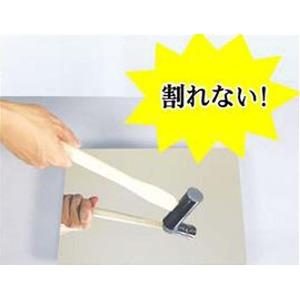 軽量割れないミラー/アルミフィルム壁掛け鏡 【吸着タイプ】 ガラス不使用 脱着可 日本製 〔防災 子供部屋 学校 体育館 屋外〕