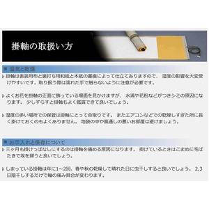 掛け軸 【長さ約895mm】 石田芳園掛軸 「赤富士龍神図」A 化粧箱入り 日本製