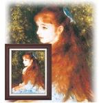 【世界の名画】名画額縁 複製画 絵画額 ■ルノワール名画額F6号「可愛いイレーネ」