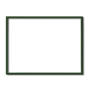 【額縁・絵画額・水彩額】壁掛けひも・アクリル付 ■5767デッサン額(グリーン) 大全紙サイズ(727×545mm)