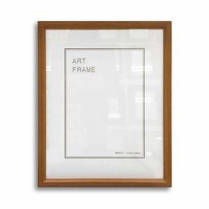 【額縁・絵画額・水彩額】壁掛けひも付 ■5546木製デッサン額(チーク) 大衣サイズ(509×394mm)