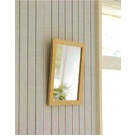 木製スタンド付きミラー 【サイズ 約247×298×28〜250mm】 日本製 ナチュラル の画像