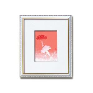 フラワーシルク版画額 【インチサイズ】 吉岡浩太郎 「カーネーション」  日本製