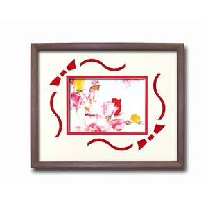 額縁/フレーム  いわさきちひろアート額 「花と少女」 壁掛け用 日本製