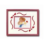 額縁/フレーム  いわさきちひろアート額 「母と子」 壁掛け用 日本製の画像