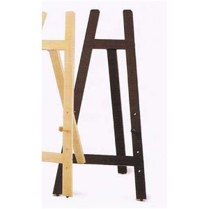 額立て・イーゼル・ウェルカムボード ■2203木製イーゼル(木製額立て)600? ブラウン